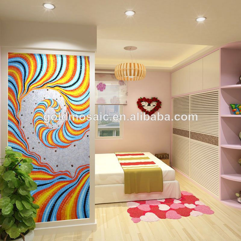 Hogar dormitorio mural de la pared caliente murales de - Papel para dormitorio ...