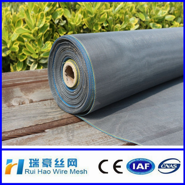 Fireproof fiberglass invisible window screen for exportation