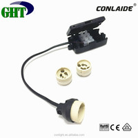 CE Approve GU10 250V Led Lamp Holder With Junction Box