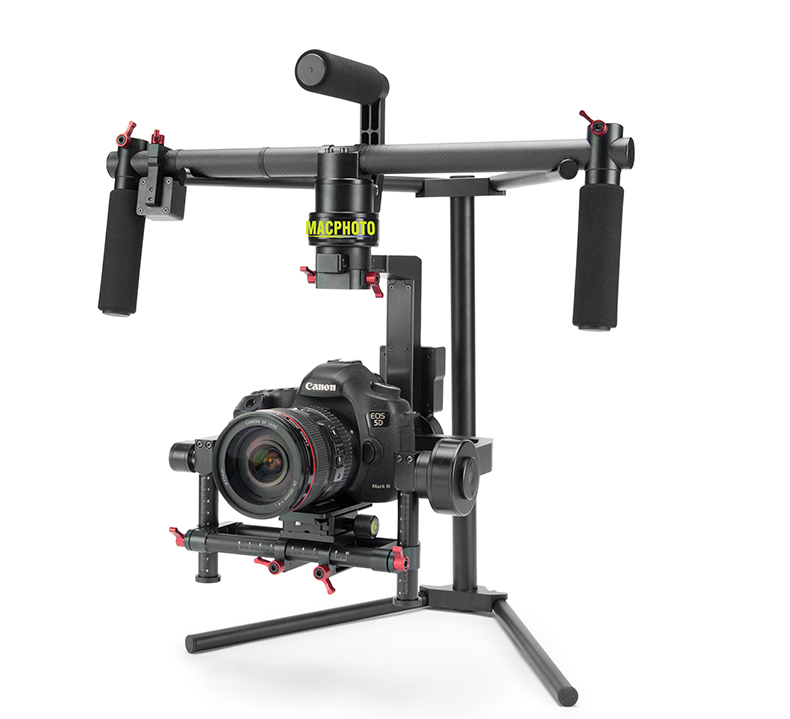 MACphoto 3 axi gimbal handheld camera video stabilizer for DSLR T-M1