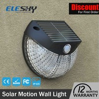 2016 china top selling products solar outdoor motion light