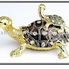 Mum And Baby Tortoise Crystal Box