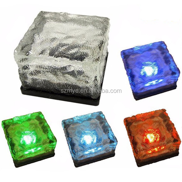 0.2w/1.2v waterproof electric fashion 4leds garden path solar led road stud marker light