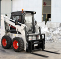 Chinese forklifts Skid Steer Loader With 650kg Rated Load