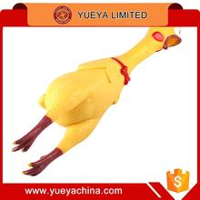 medium size Screaming Chicken stress relief toys Pet Dog Shrilling Chicken Chew Toy toys