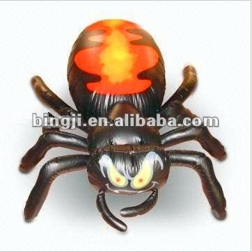 funning pvc inflatable spider model, inflatable toy
