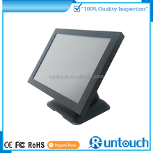Runtouch New Full Metal 15 inch IR touch screen LCD All in one PC monitor with wifi bluetooth