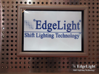 Edgelight PF2 Shop Signage advertising photo frame led backlit menu boards with 2 years warranty