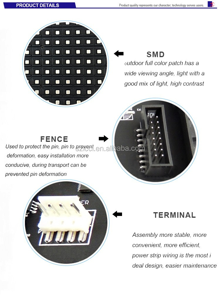 High Brightness outdoor waterproof full color SMD P5 RGB led display module