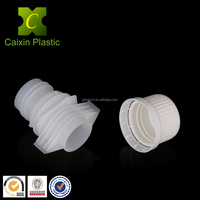 China OEM 20mm Non-toxic Plastic Spouts and Caps for Laundry Detergent Doypack