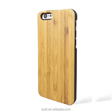 Wholesale Blank Custom Design Cell Phone Case cover For Iphone 6 real Wood Bamboo Case