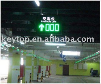 Indoor LED Display (parking guidance system)