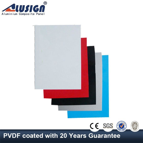 Alusign High peeling strength aluminium composite panel acp for exterior curtain walls