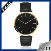 Luxury business man watch alloy vintage quartz watch