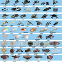 China OEM factory made spring clip fastenings/metal clips fasteners