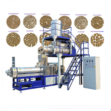 Cheap&high quality prawn fish feed equipment / extruder machine