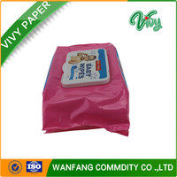 wholesale wet wipes or tissue papers for baby with safety material