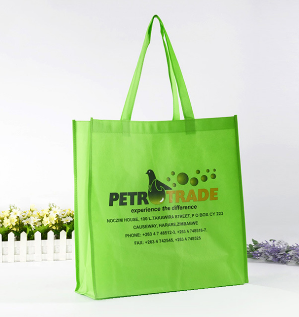 custom printed cheap promotion drawstring euro tote nonwoven bag black non woven shopping bags