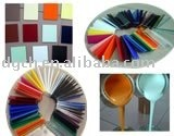CHA Acrylic pigment paste for PMMA-Yellow,red,white,violet,green,blue,brown,black,orange