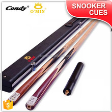 OMIN popular design gunman ash wood snooker cue one piece snooker cue