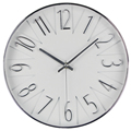 decorative clock wall embossed numbers plastic wall clock(T3053S)