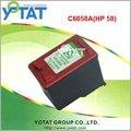 Remanufactured inkjet cartridge for HP58 (C6658A)