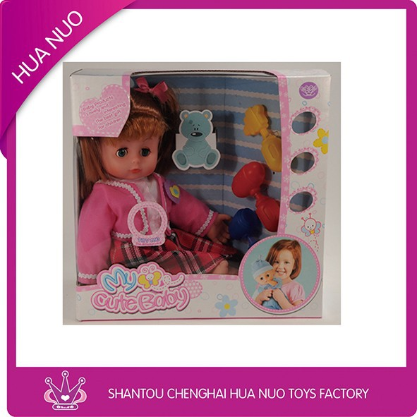 Import toys from china shantou plastic factory new arrival baby dolls toys wholesale