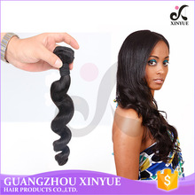 "1b# Color 100g/Bundle body wave malaysian new style crochet braids with human hair 10""-30"" In Stock"