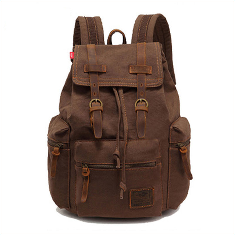 China supplier online shopping laptop camera 10oz canvas <strong>backpack</strong> wholesale travel <strong>backpack</strong> bag/vintage canvas <strong>backpack</strong>