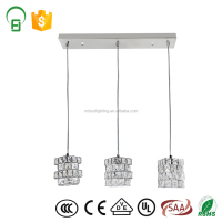 Small Hanging Light Fixtures Small Glass+Iron Pendant Lamp Chandelier