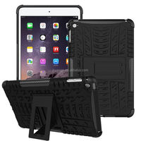 New arrival Slim armor kickstand pc tpu hard cover phone case for ipad mini 4 china price