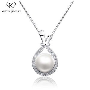 925 sterling silver design mounting pearl cage pendant jewelry
