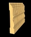 Wood Skirting Design, Wooden Trim at Nominal Cost