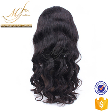 2017 new arrival well accepted body wave real human hair wigs for women