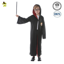 A Party costumes Children magician dress Christmas Carnival kids harry potter costume