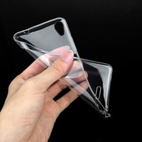 Mobile phone accessories Shockproof Soft Transparen Clear TPU Back Cover Case For For Infinix X551