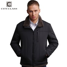 New Design Trendy Breathable Thinsulate Overcoat Mounton Collar Hot Sale Men Short Winter Warm Jacket