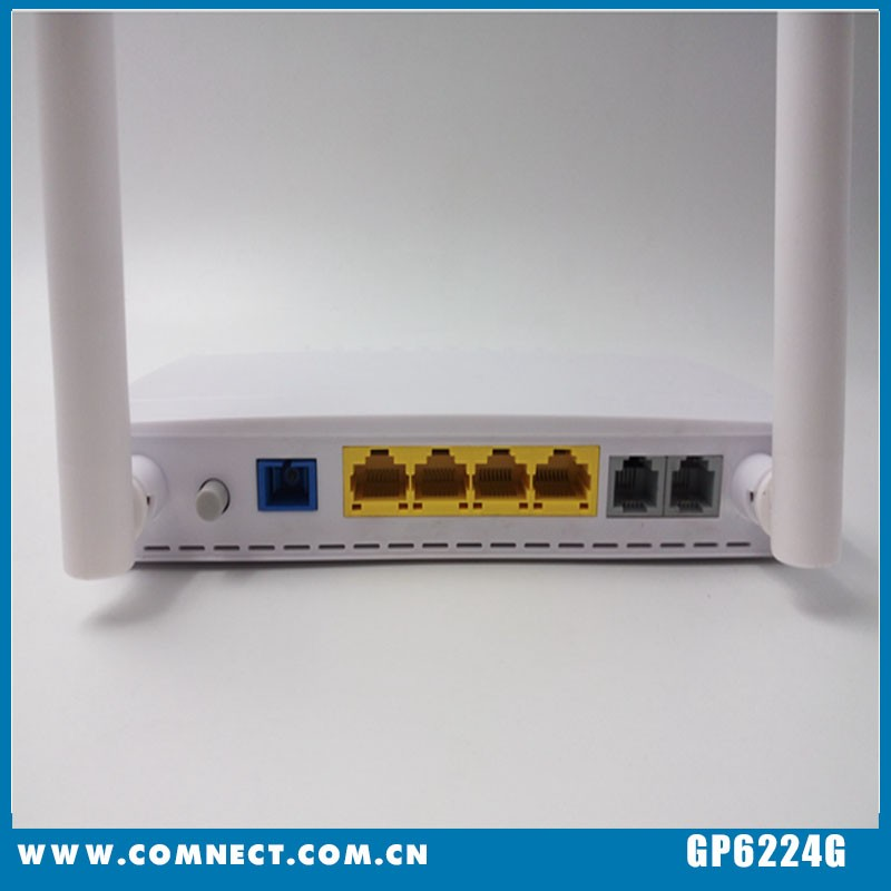 Professional fiber optic onu gpon modemwith CE certificate