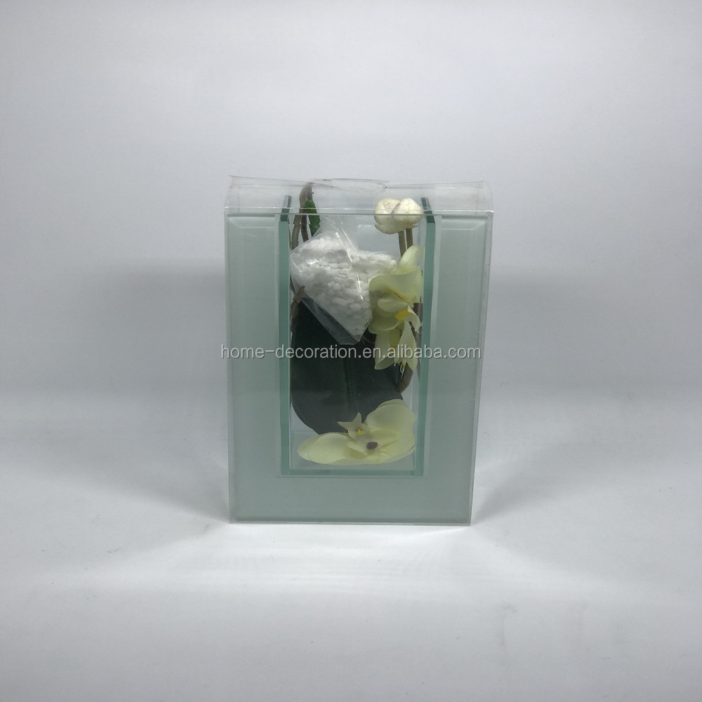 different types clear mini glass vase