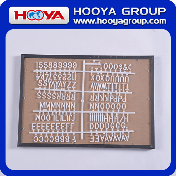 "16""*20"" oversize density board letter board sign for office"