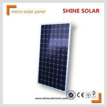solar cell 156mm 60Pcs cheap 250w monocrystalline silicon solar panel for sale