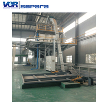 Cheap Price Wastewater Treatment Sewage Sludge Hopper Buffer Storage For Metered Process Feed