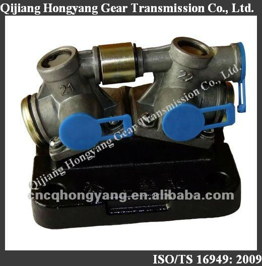 Sinotruk, Howo, North Benz, Golden Prince, Mercedes Benz truck 5S-150GP 5S-111GP gearbox cut off valve 0750132008