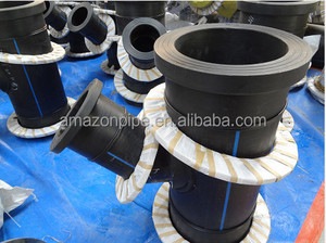 Hot sale HDPE Fabricated Fittings PE plastic fitting welded fitting