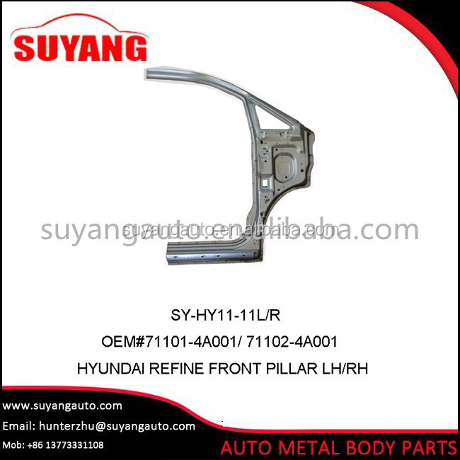 Steel Front Pillar L/R For Hyundai refine/starex Auto Body Parts