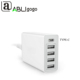 Top Spplier High quality wall charger station 4 usb ports 1 type c ports Travel Fast 6.0A 30W Adapter For Phone Charger