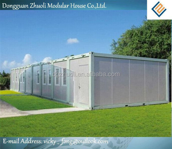 Variables involved in building your custom home-- color steel sandwich panel house