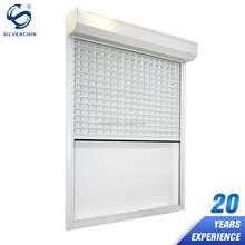 Home Hand-Actuated Aluminium Frame Turn Up Shutter Bullet Proof Electric Exterior Window Roller Shutters