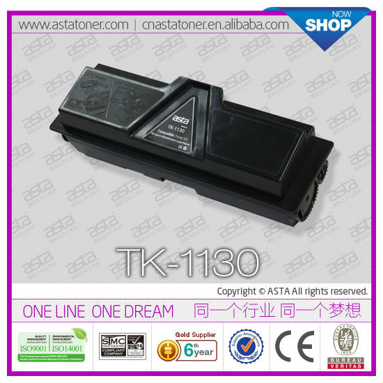 Original Quality Toner Cartridge TK-1130 Compatible for Kyocera PRINTER FS-1030MFP