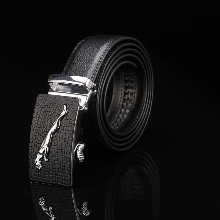 Wholesale prices OEM quality man pu belts with automatic with different size